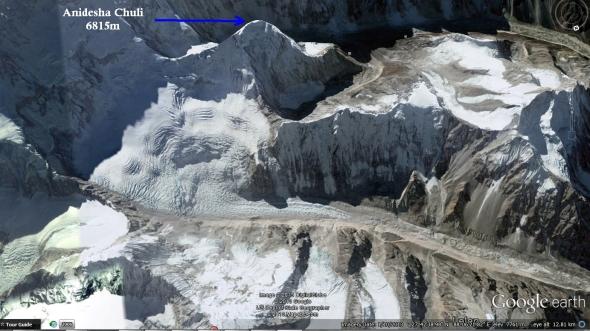 Anidesha Chuli Google Earth